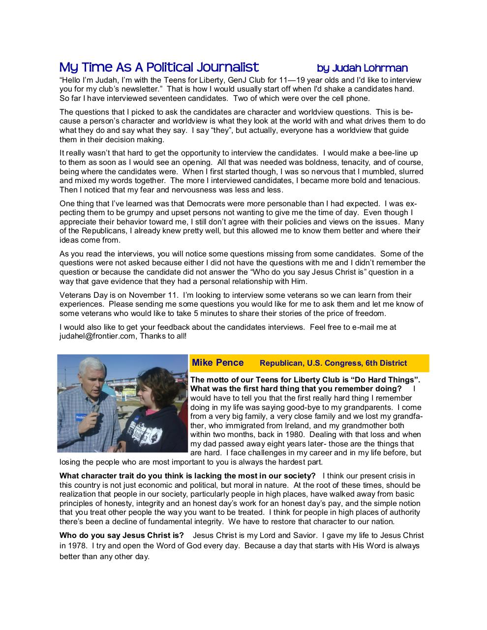 Teens for Liberty Newsletter Oct2010.pdf - page 2/21