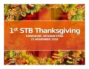 1st stb thanksgiving 1