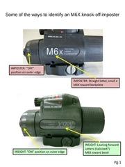 m6x knock off vs insight
