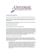 closing costs explain