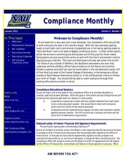 compliance monthly january2011