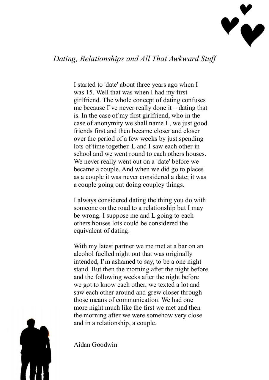 Document preview Dating, Relationships and all that awkward stuff.pdf - page 1/1