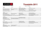 s11timetable 2011 version 3