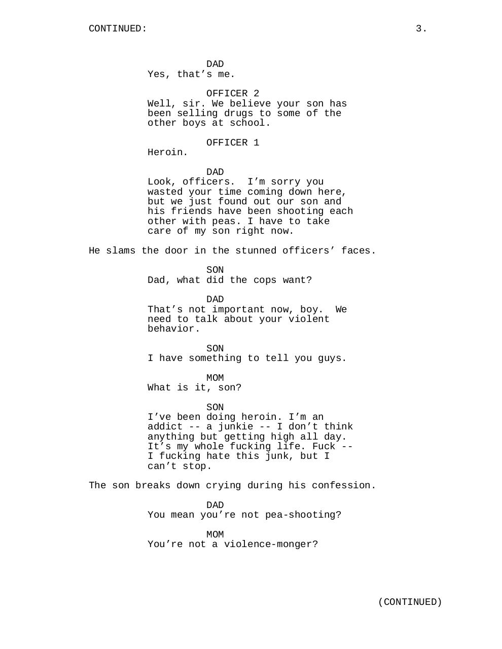 Document preview The Junkie and the Pea Shooter.pdf - page 4/5