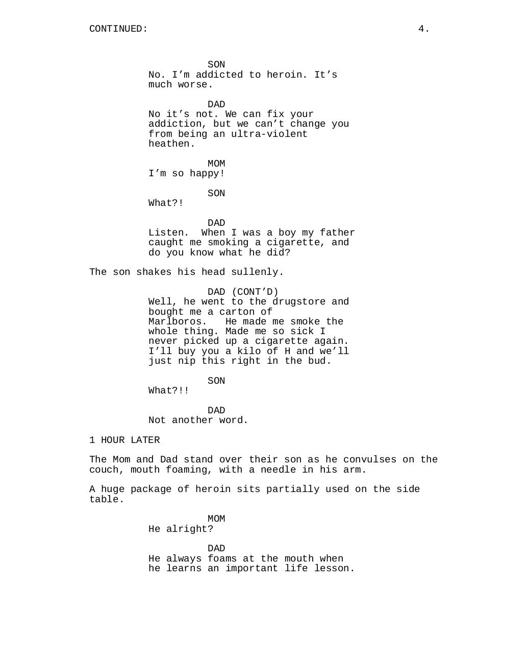 Document preview The Junkie and the Pea Shooter.pdf - page 5/5