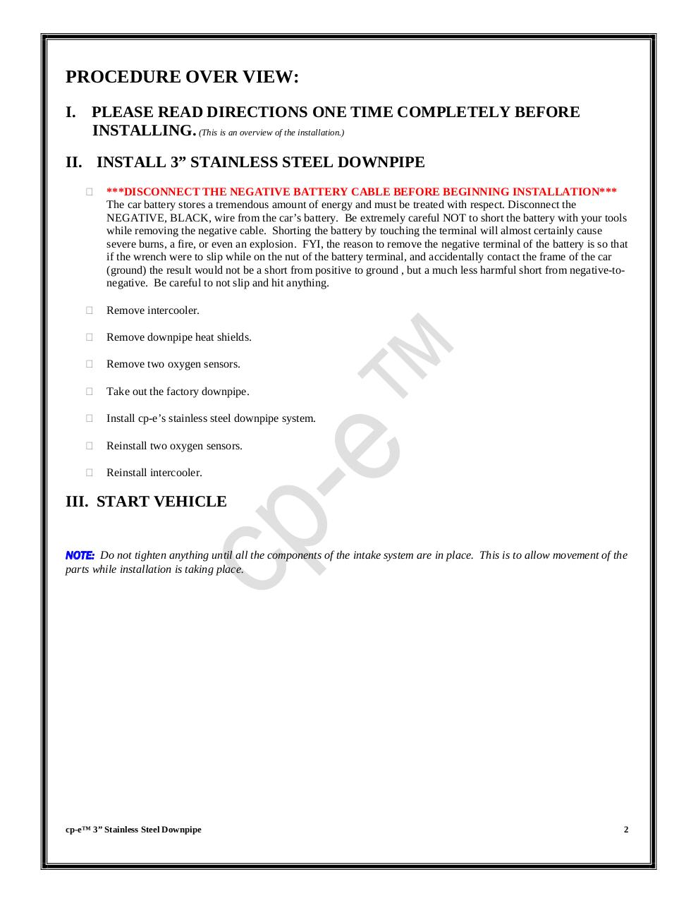 Compressed Downpipe MazdaSPEED6.pdf - page 2/10
