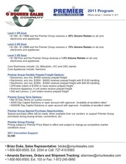 orourke 2011 program