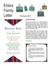 ehlers family letter feb 2011