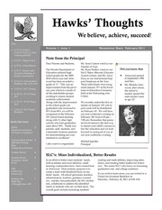 hawk thoughts february