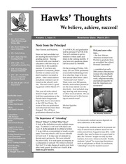 hawk thoughts march