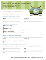 charity golf reg form 1