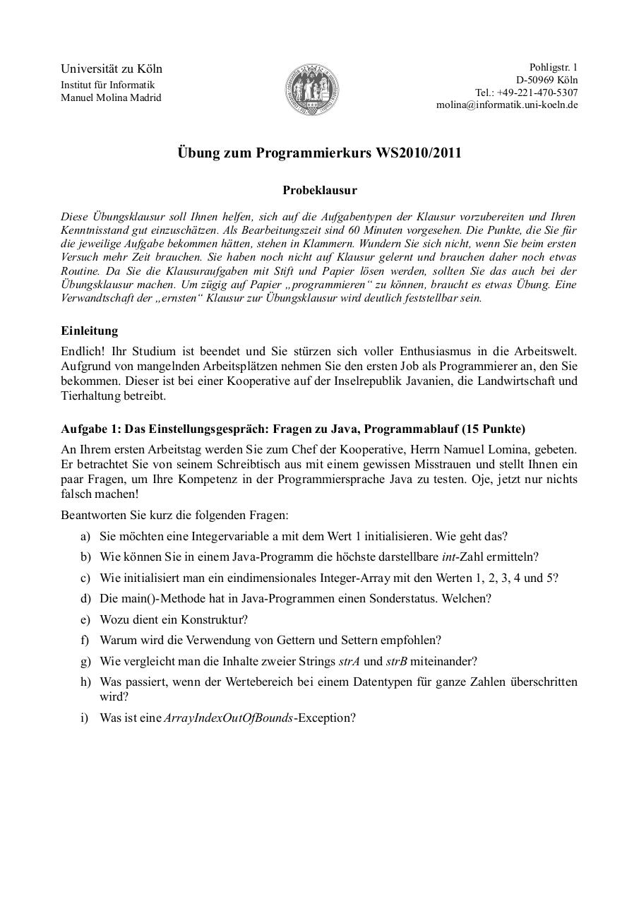 Document preview öbungsklausur_(Probeklausur).pdf - page 1/4