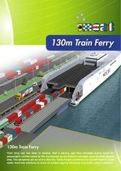 130m train ferry brochure