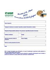 modulo iscrizione basket d a mare 2011
