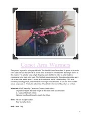 PDF Document corset armwarmers