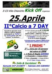 2011 locandina ii calcio a 7 day