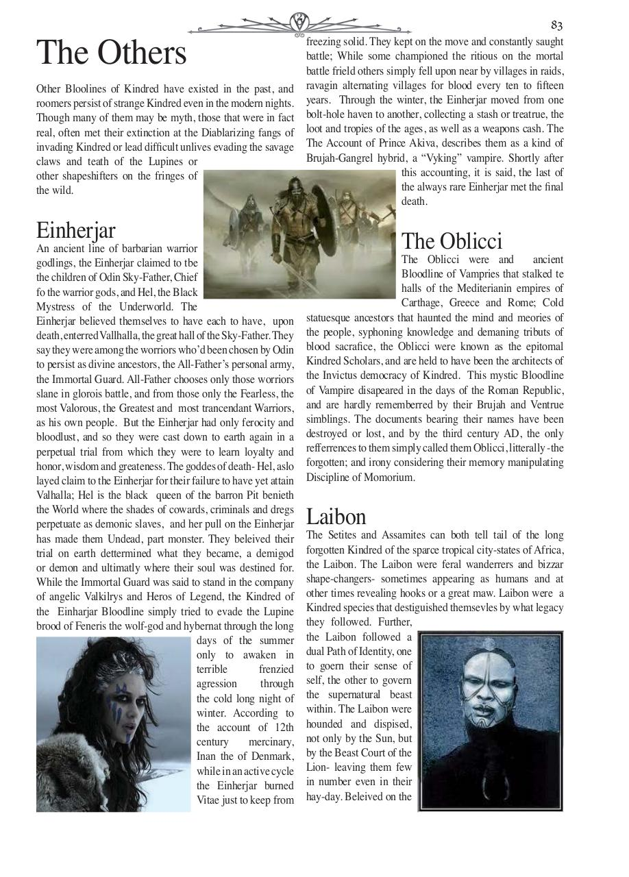 Document preview Chronical Guide VtM Pgs 81-85.indd.pdf - page 3/5