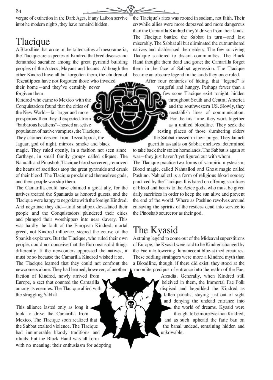 Document preview Chronical Guide VtM Pgs 81-85.indd.pdf - page 4/5