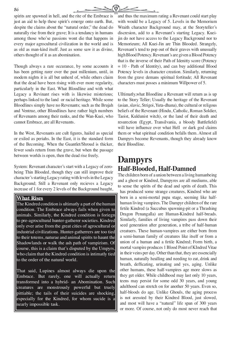 Document preview Chronical Guide VtM Pgs 86-90.indd.pdf - page 1/5