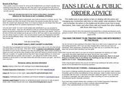 legal info