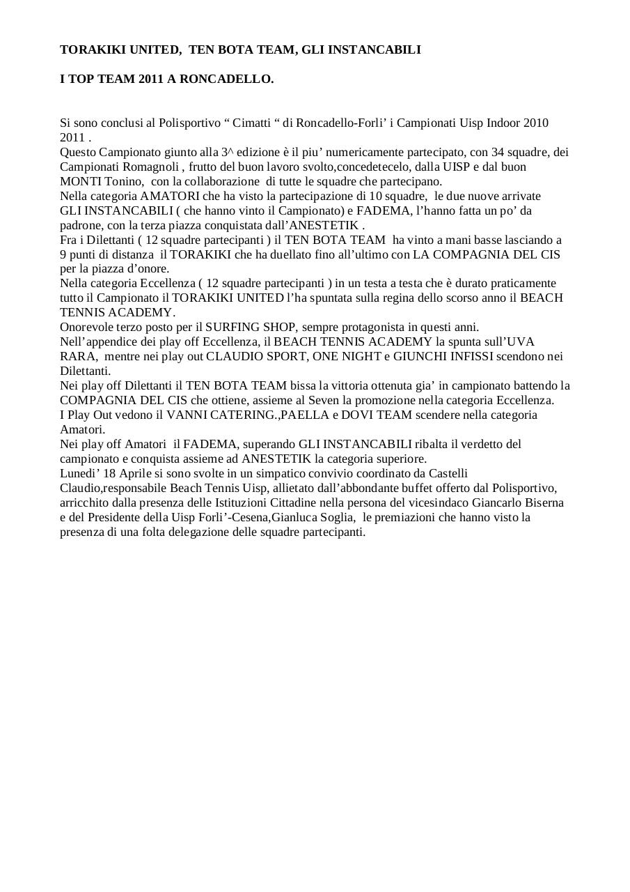Document preview RONCADELLO FINALI 2011.pdf - page 1/3