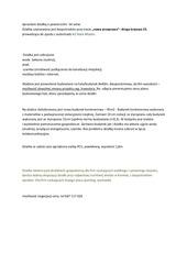 PDF Document sprzedam dzia k o powierzchni 54 ar w popr