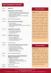 basel iii 2011 final programme