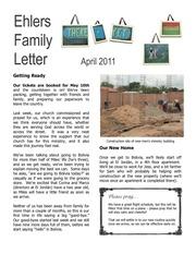 ehlers family letter april 2011