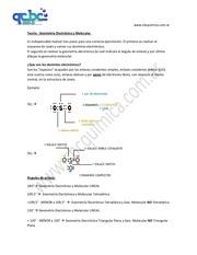 teoria geometria electr nica y molecular