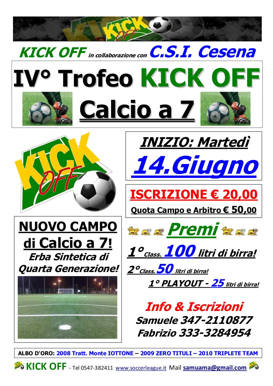 Document preview 2011 - IV° Trofeo KickOff _7_ - Locandina.pdf - page 1/1