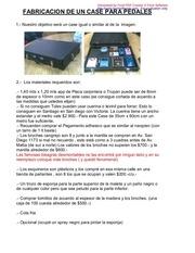 fabricacion de un case para pedales
