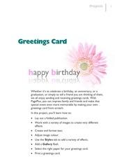 PDF Document greeting card