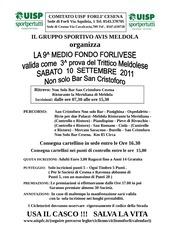 avis meldola 10 settembre 2011