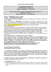 norme di partecipazione calcio 11 2011 2012