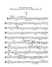 rach 2 viola