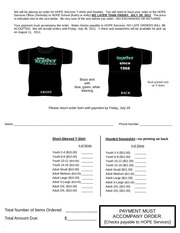 PDF Document hope t shirts 2011 pub