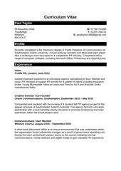PDF Document paul taylor cv 2011