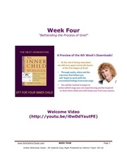 20x20 week four booklet