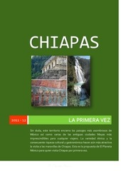 PDF Document folleto chiapas la primera vez el planeta mexico