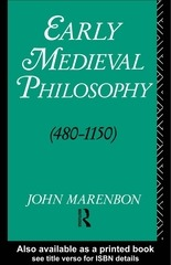 PDF Document marenbonearly medieval philosophy 480 1150 an introduction