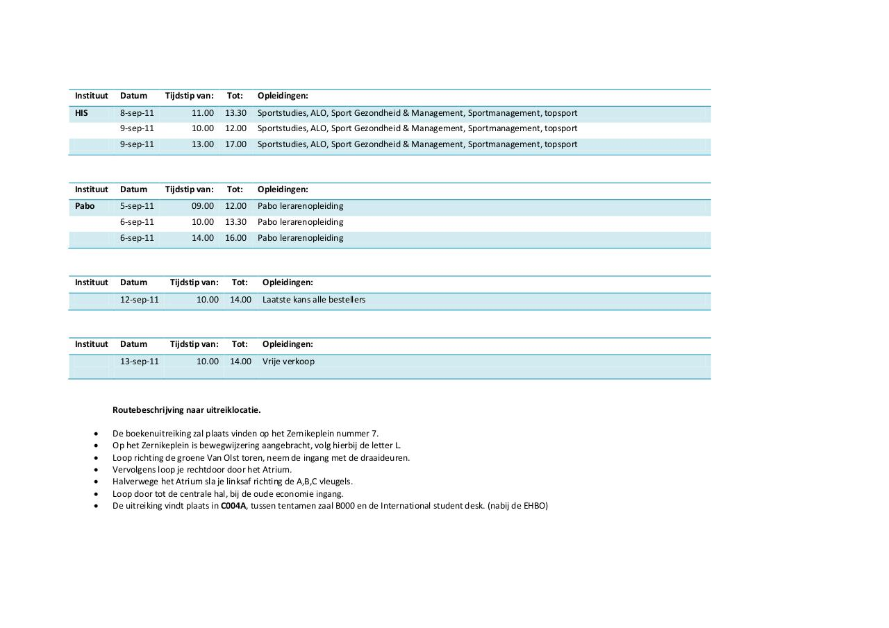 Document preview Uitreikplanning Definitief.pdf - page 3/3