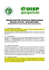 regolamento romagnolo fc 2012 aggiornato