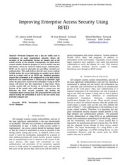 57143695 improving enterprise access security using rfid