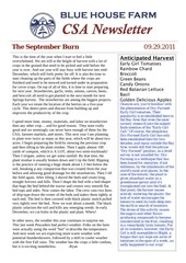 09 29 newsletter front and back