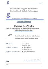 PDF Document etude est conception