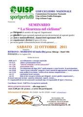 new seminario giudici e dirigenti ottobre 2011