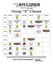 group x classes oct 2011