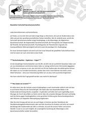 newsletter fachschaft sprachwissenschaften ws1112