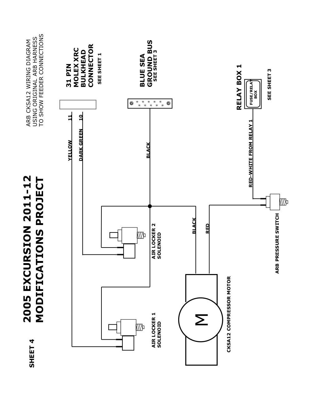 Arb Air Locker Pressor Switch Wiring Diagram on