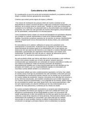 cartaabiertaaloschilenos